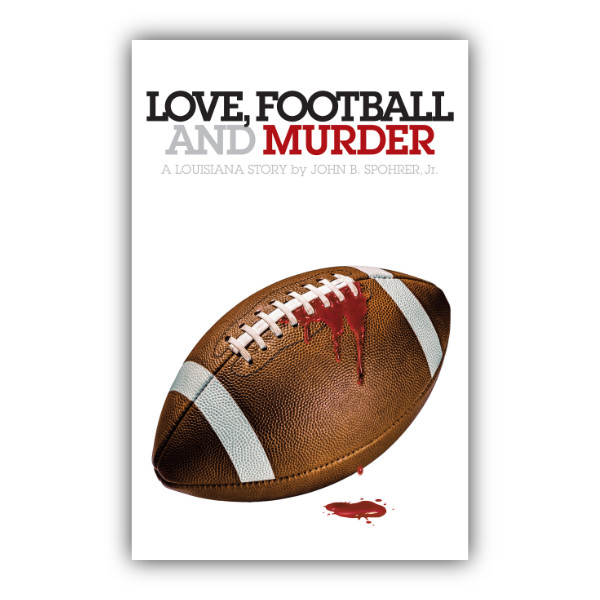 love football and murder signed book